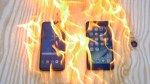Burning Samsung Galaxy S8 Plus vs iPhone 7 Plus – Which Is Stronger?