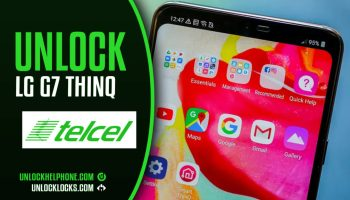 How To Unlock USA T-Mobile LG G7 ThinQ by Device Unlock App