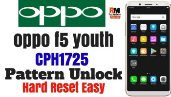OPPO F5 password unlock done CPH1723 | UnlockHelphone