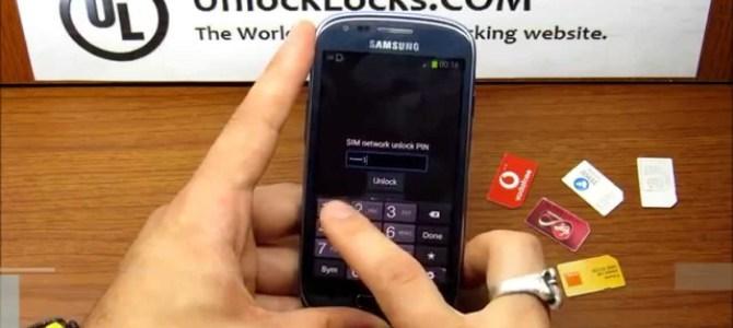 How To Unlock Samsung Galaxy S3 By Unlock Code ?