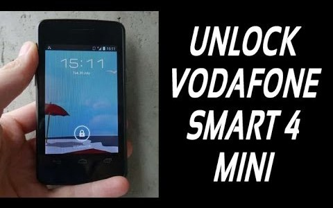 How To Unlock Vodafone Smart 4 Mini (Vodafone 785) By Unlock Code.