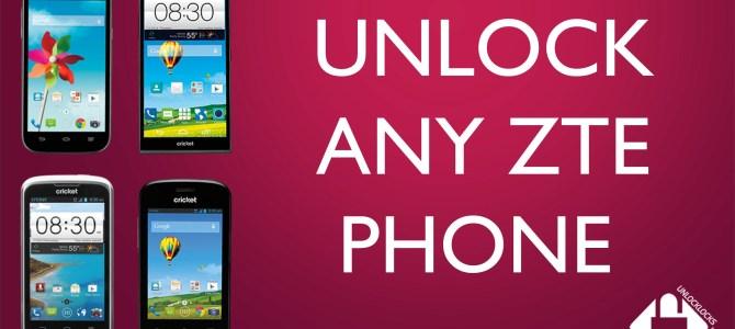How To Unlock ZTE Grand X Z777 by Unlock Code.