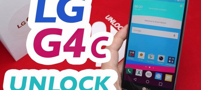 How To Unlock LG G4c by Unlock Code.