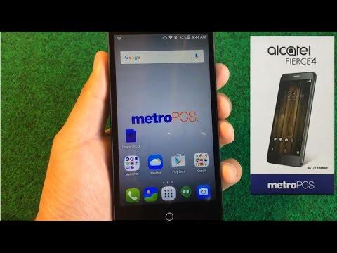 How To Unlock a MetroPCS or T-Mobile ALCATEL Fierce 4  | UnlockLocks COM