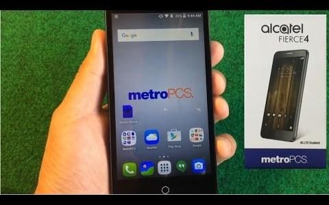 How To Unlock a MetroPCS or T-Mobile ALCATEL Fierce 4.