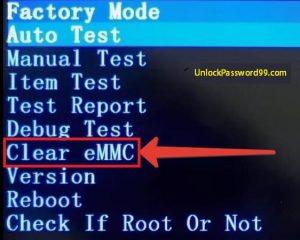 Clear-eMMC