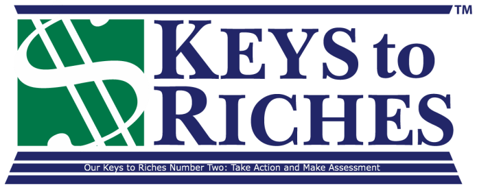 Financial Concepts on Keys To Riches Week Two