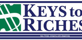 Money this week: Our Key to Dreams with Deadlines