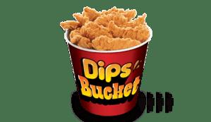 Dips-Bucket kfc