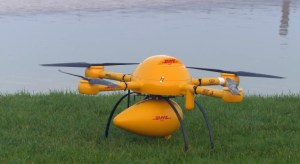 DHL, drone, UAV, cargo delivery