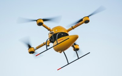 DHL Delivery Drones in Germany