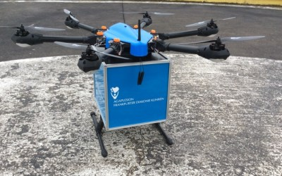 German Cargo Drones Delivering Blood Samples