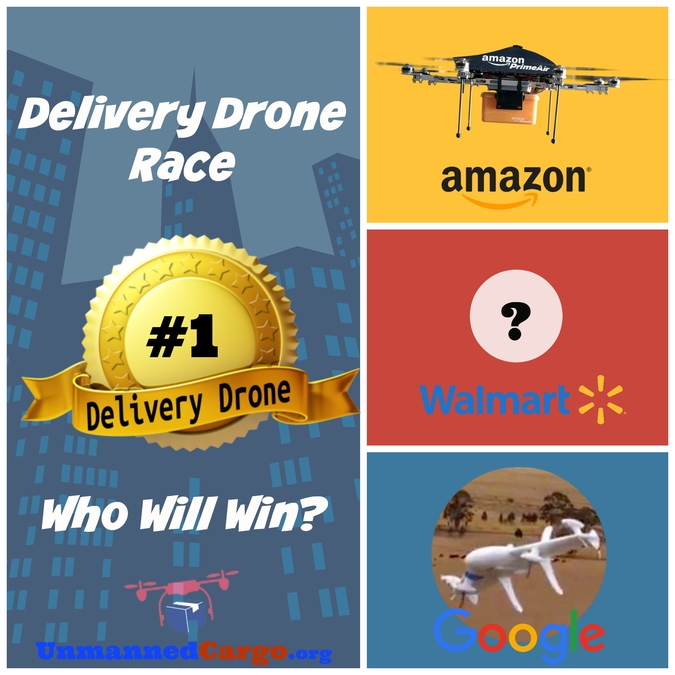Walmart Joins the Delivery Drone Race!