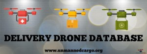 Delivery Drone List - UnmannedCargo.org - How much weight can a delivery drone carry?