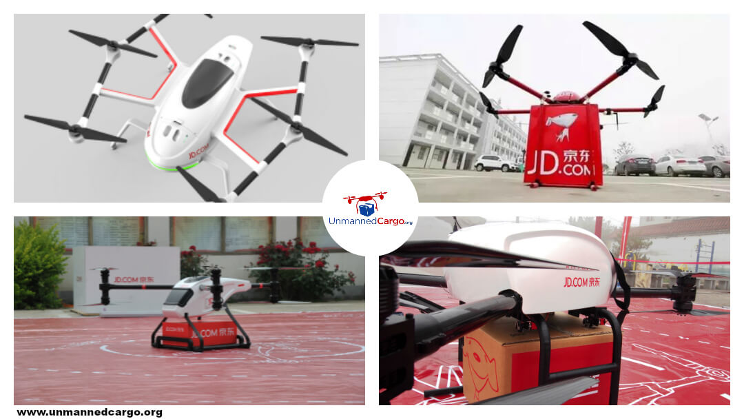 What Do China's Delivery Drones Look Like? – JD.Com Spotlight