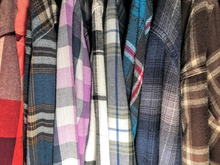 best autumn essential flannels