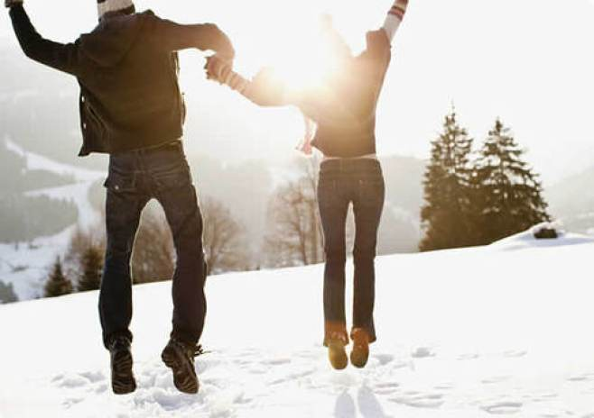 date ideas for valentine's day snow