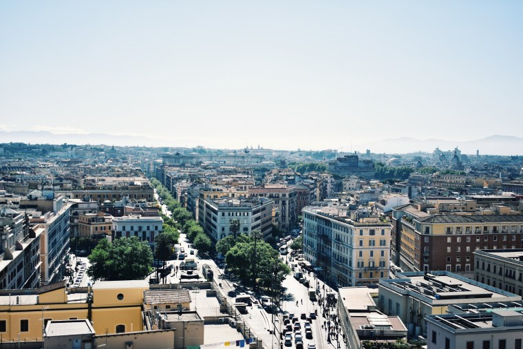 Historical Highlights of Rome-view of Rome