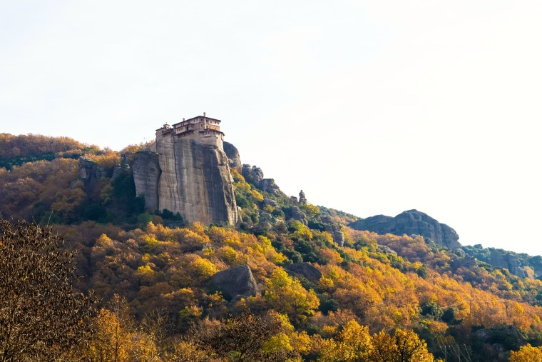 best fall hikes meteora