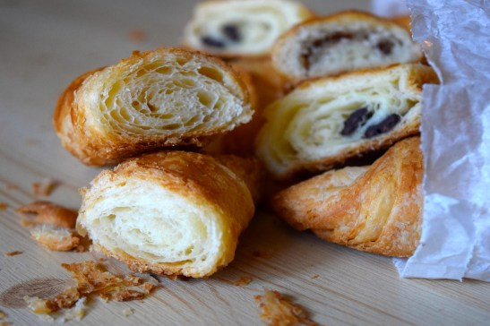 Butter and Chocolate Croissants
