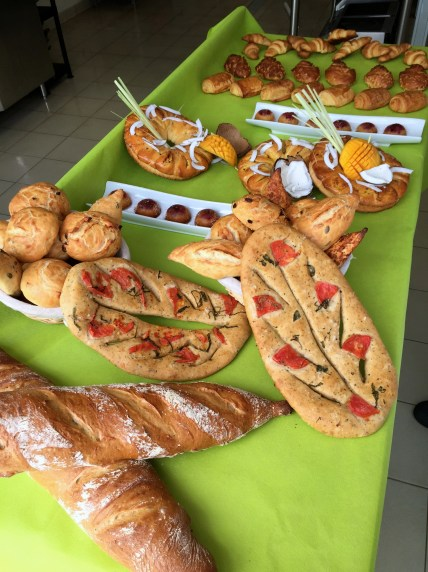 All of the breads we made this week