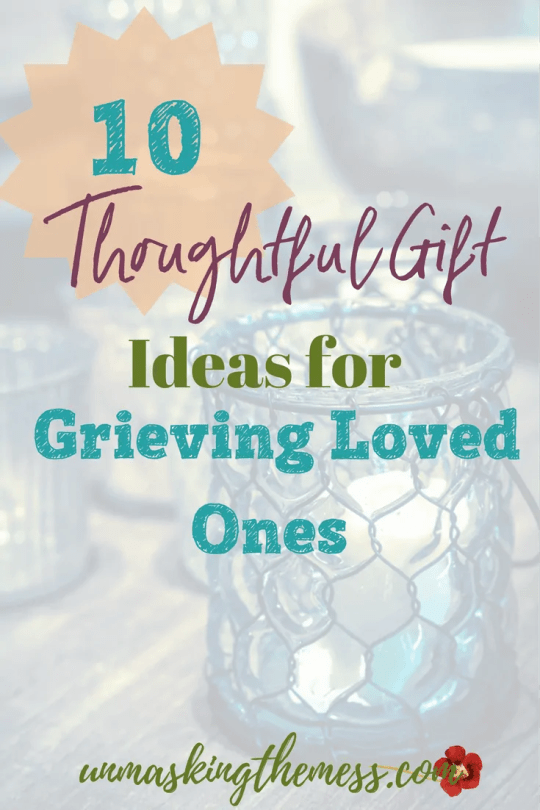 10 Thoughtful Gift Ideas for Grieving Loved Ones.How to give hope when losing a loved one. What a better time to give Hope when losing a loved one.