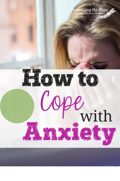 "How to Cope with Anxiety. ""Do Not be Anxious,"" what does this mean? How do we live in a world full of scary, hard things and not have anxiety? The Bible has resources for us. #panicattacks #anxiety #anxietyrelief"