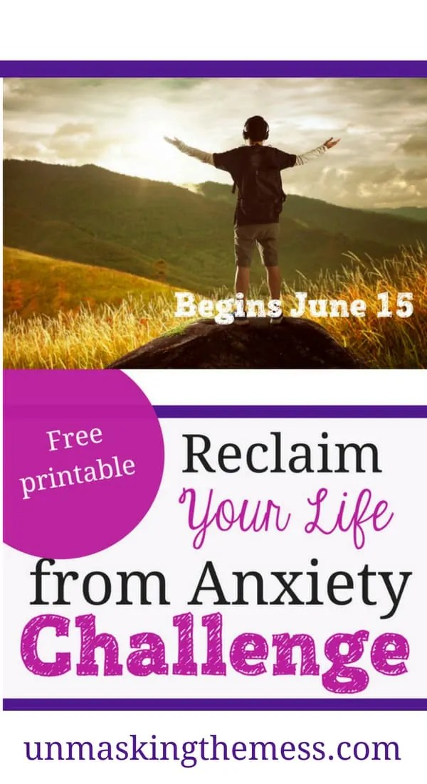 Reclaim Your Life From Anxiety Challenge. Join our 21-day anxiety-free challenge. Are you ready to take back your life? #anxiety #anxietyrelief #tipsforovercominganxiety #livingvictoriouslywithanxiety