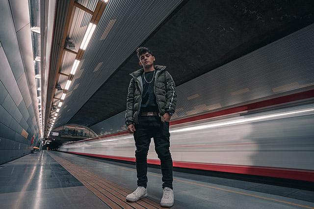Nicolás Retamal - Lucas en el Metro