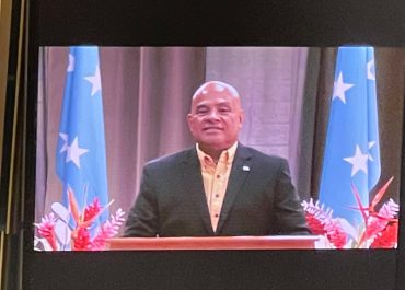 Address by President David W. Panuelo    before the United Nations General Assembly at its seventy-sixth session    New York, 23 September 2021