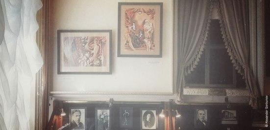 Оригиналы иллюстраций Арины Георгита Театр-музей «Булгаковский дом»