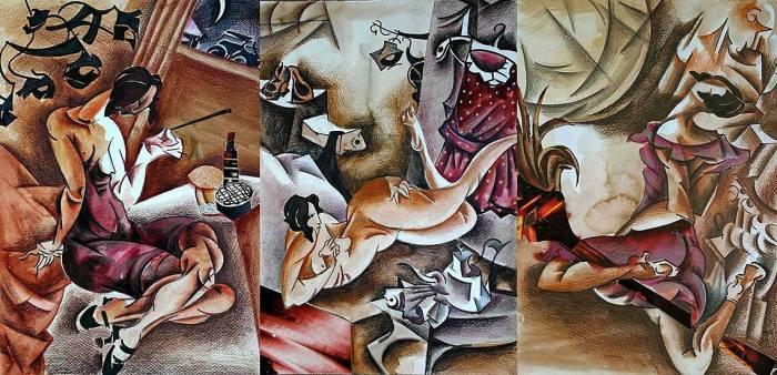 Иллюстрации Арины Георгита к роману Мастер и Магарита
