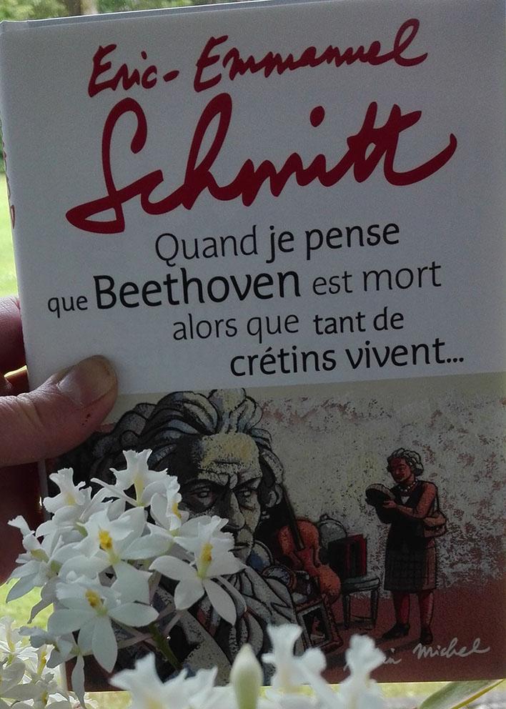 Chronique du livre : Quand je pense que Beethoven est mort alors que tant de crétins vivent…