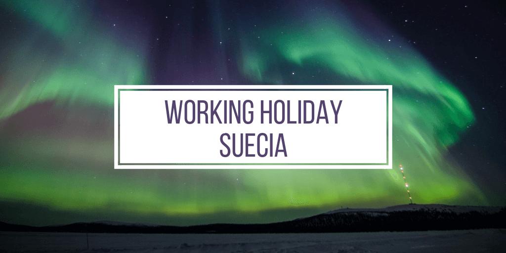 working holiday suecia