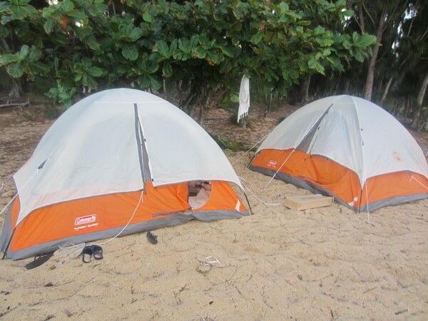 Acampar en hawaii