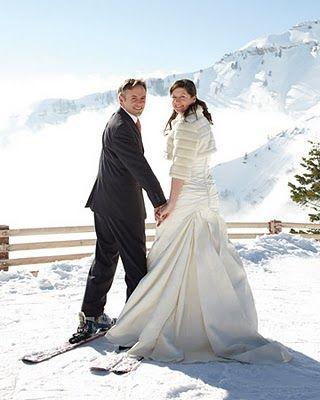 Ideas para bodas invernales