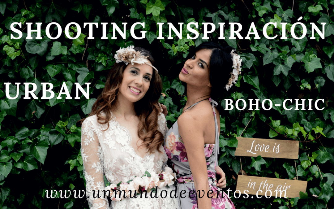 SHOOTING INSPIRACIÓN URBAN BOHO-CHIC
