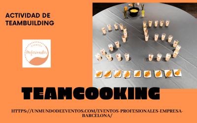 Actividad de Teambuilding: Teamcooking