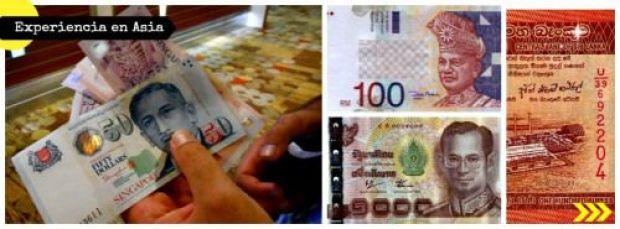 dinero en asia