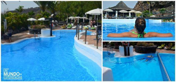 hotel jardin tecina piscinas