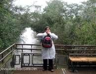 Nair Felis Rodriguez en Iguazú