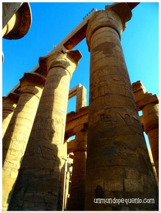 Templo de Karnak columnas