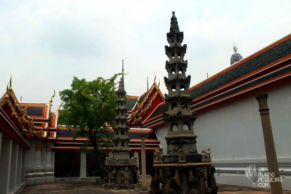 Wat Pho Little chedis