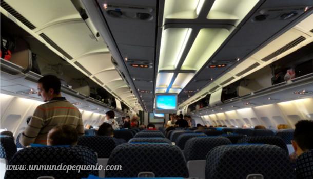 avión AR por dentro