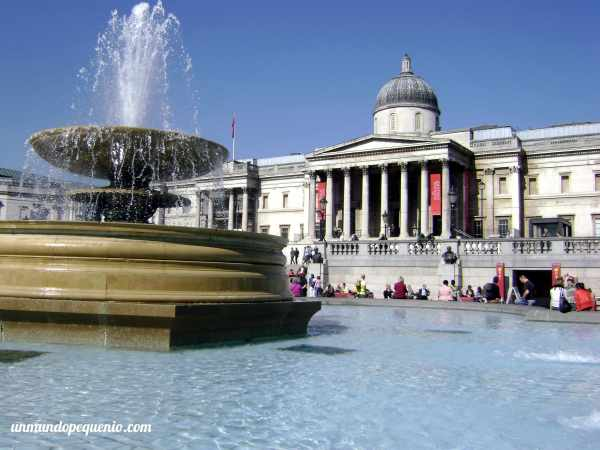 National Gallery de Londres en Trafalgar Square