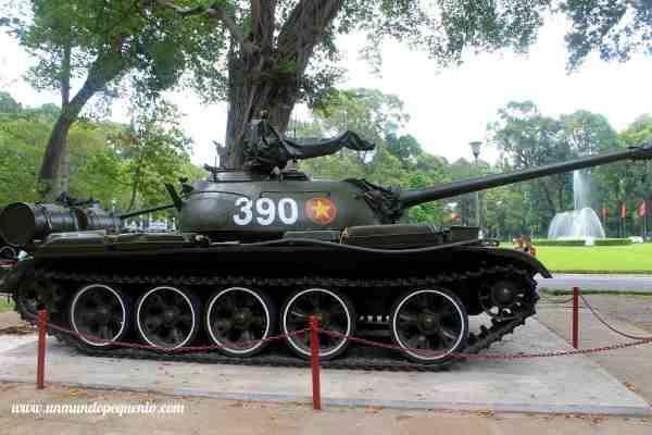 Tanque 390 Palacio de la Reunificación HCMC