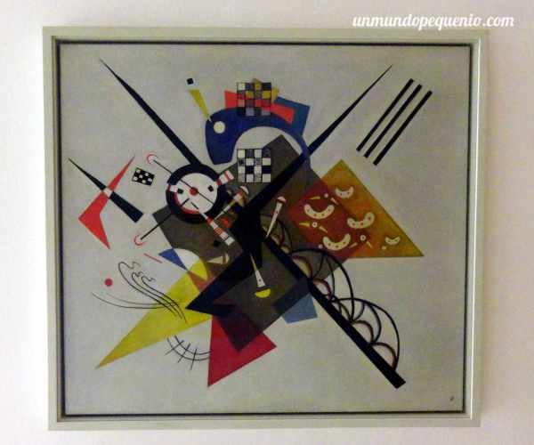 Un Kandinsky en el Centro Pompidou