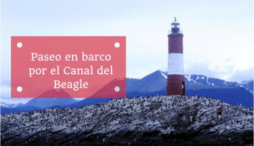Paseo en barco por el canal del Beagle