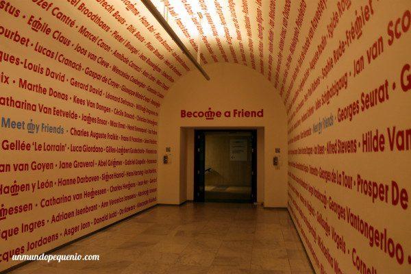 Entrada a los Museos Reales de Bellas Artes de Bélgica