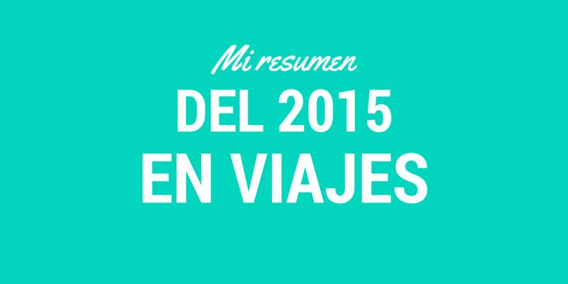 2015 EN VIAJES